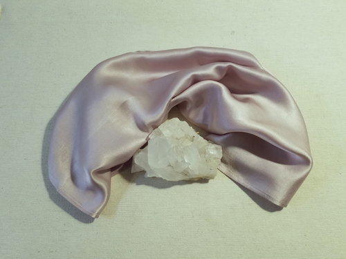 Scarf Peace Silk SILVERMOON • herbal dyed by Berta Maria • 100% Silk